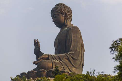 Vykort buddha120919