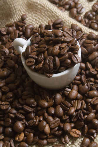 Vykort kaffebonor080430