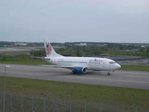 Vykort Boeing