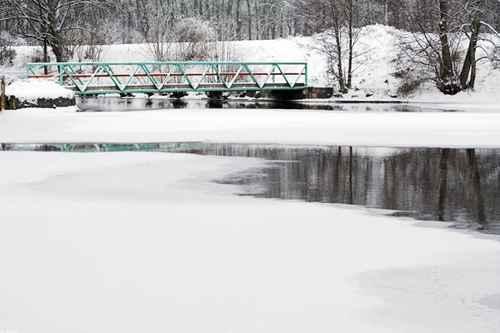 Vykort bro_vatten