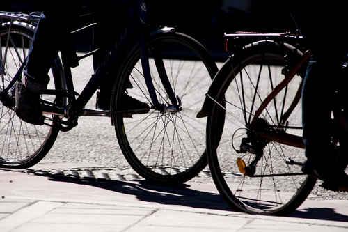 Gratisbild på Cyklister