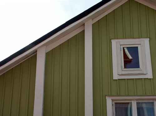 Gratisbild på husvägg