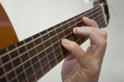 Vykort klassiskgitarr_ackord