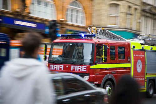 Vykort london_fire_brigade