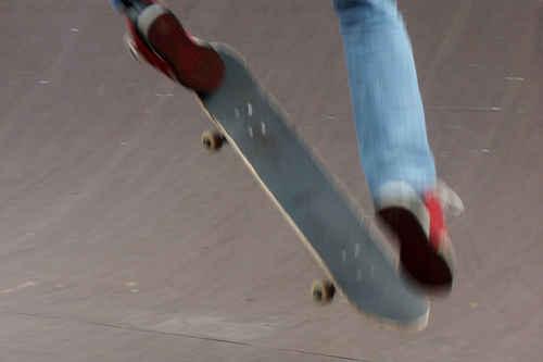 Vykort skateboard